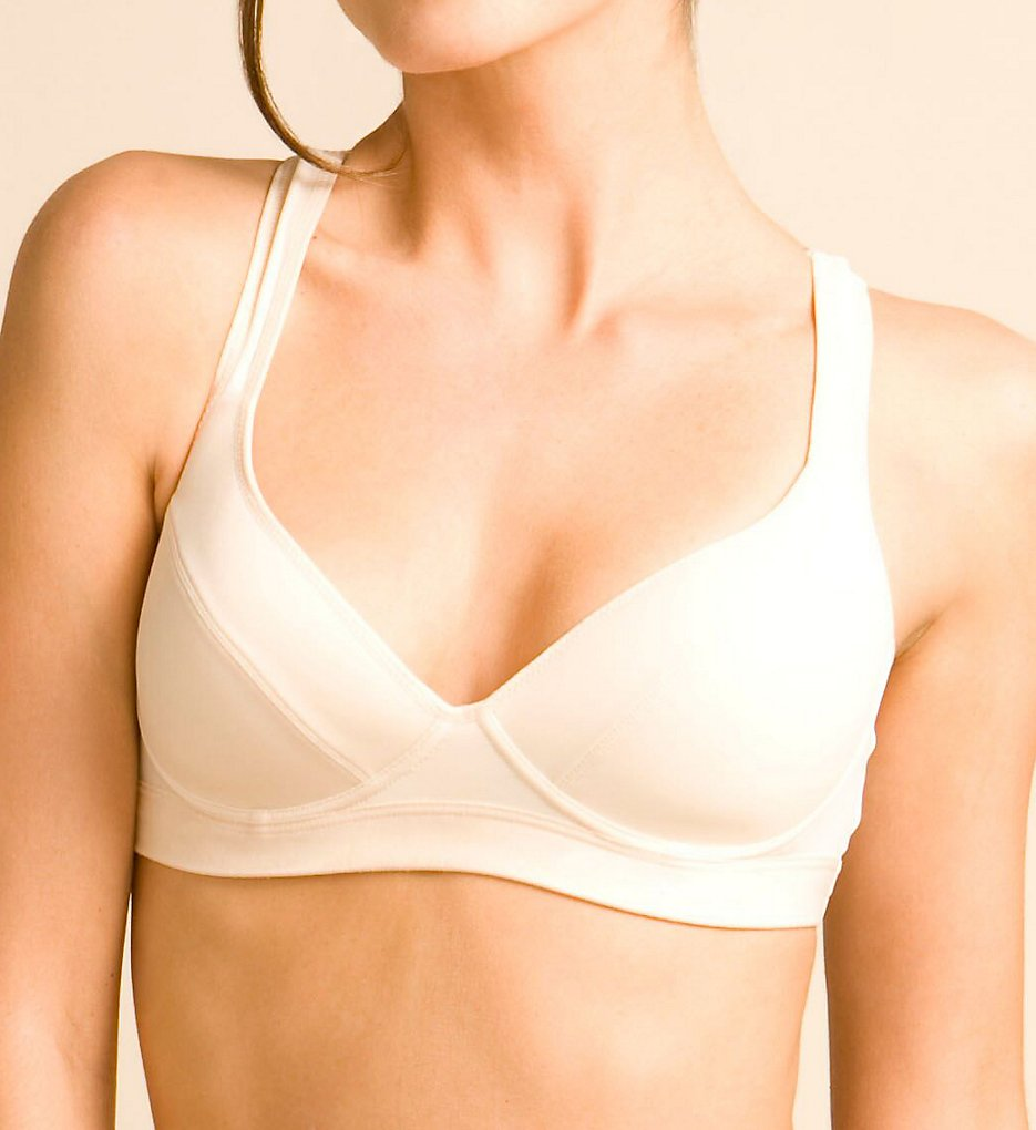 The Little Bra Company F006 Elizabeth Petite Sports Bra (Ivory)