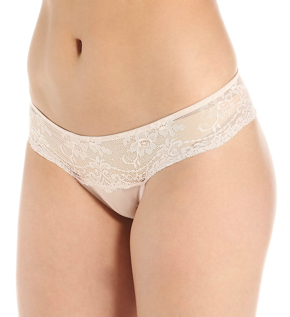 The Little Bra Company >> The Little Bra Company P004P Lucia Petite Lace Brief Panty (Ballet Pink L)