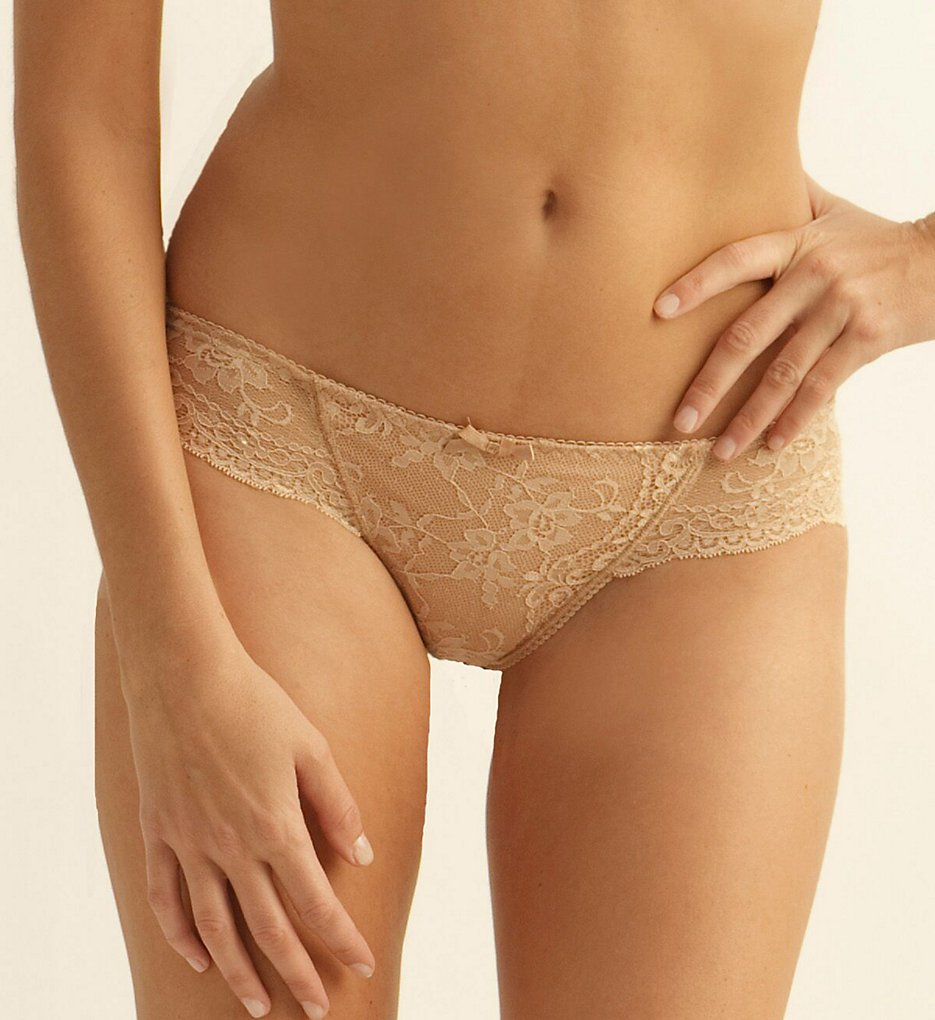 The Little Bra Company >> The Little Bra Company P004T Lucia Petite Low Rise Thong (Nude L)