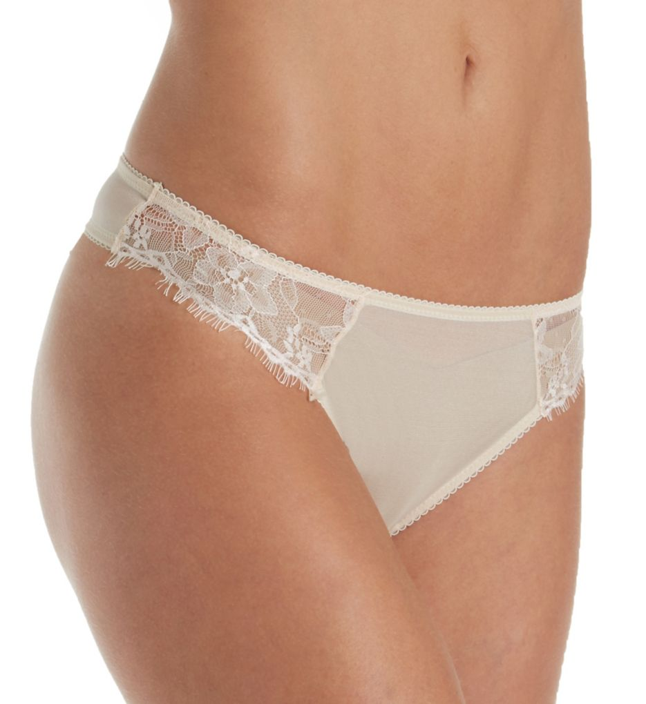 The Little Bra Company Mercedes Eyelash Lace Thong