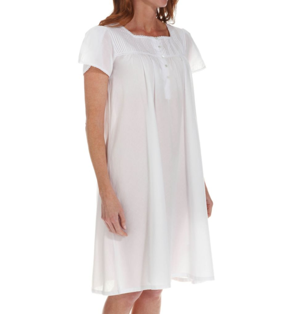 Thea Opal Short Sleeve Gown