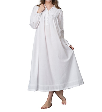 Thea Rosalie Long Sleeve Nightgown