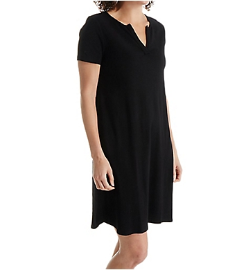 Three Dots Cotton Cheryl Short Sleeve Dress