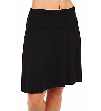 Three Dots Viscose Lycra Fold Over Skirt