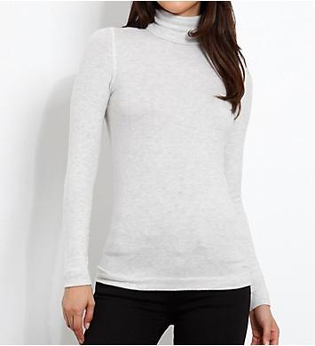 Three Dots Brushed Sweater Long Sleeve Turtleneck