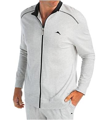 Tommy Bahama Cotton Modal Loungewear Full Zip Jacket