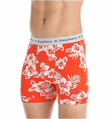 Tommy Bahama Floral Cotton Stretch Boxer Briefs - 2 Pack