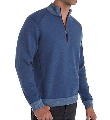 Tommy Bahama Flipsider Reversible Half Zip Pullover