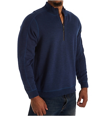 Tommy Bahama New Flipsider Reversible Half Zip Pullover