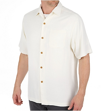 Tommy Bahama Havana Herringbone Button Down Camp Shirt