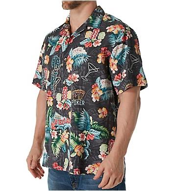 Tommy Bahama Poker Days Silk Camp Shirt