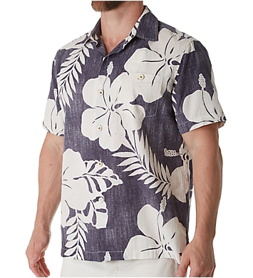 Tommy Bahama Hialeah Hibiscus Silk Camp Shirt
