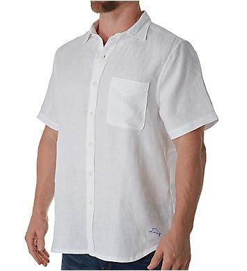 Tommy Bahama Seaspray Breezer Linen Short Sleeve Camp Shirt