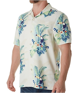 Tommy Bahama Tommy The Toucan Silk Camp Shirt