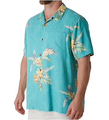 Tommy Bahama Open Water Blooms Silk Camp Shirt