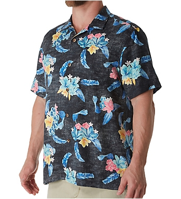 Tommy Bahama Salt Water Blooms Silk Camp Shirt