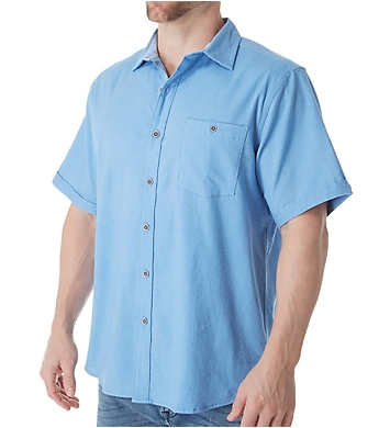Tommy Bahama Corvair Stretch Short Sleeve Camp Shirt