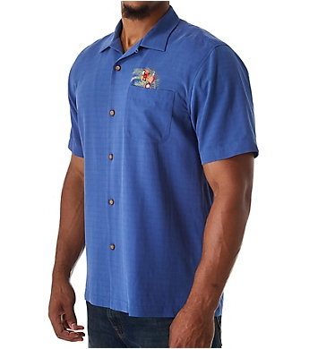 Tommy Bahama Oh Tan and Palm Camp Shirt