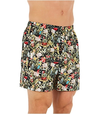 Tommy Bahama 100% Cotton Woven Boxers - 2 Pack