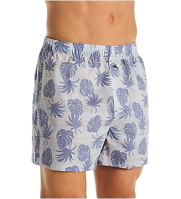 Tommy Bahama Printed Cotton Woven Boxers - 2 Pack