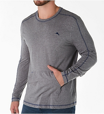 Tommy Bahama Long Sleeve Pull Over with Pocket