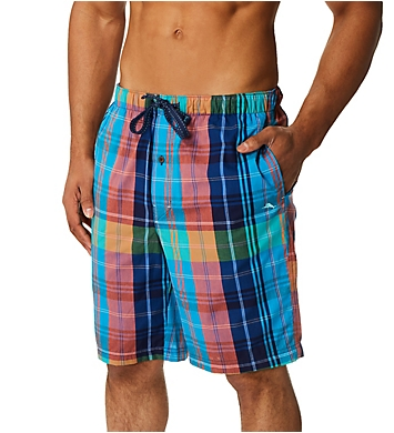Tommy Bahama Preppy Plaid Yarn-Dye Woven Lounge Short