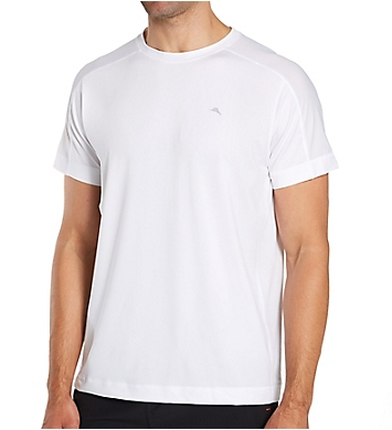 Tommy Bahama Mesh Tech Crew Neck T-Shirt