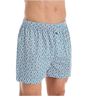 Tommy Bahama 100% Cotton Printed Poplin Woven Boxer