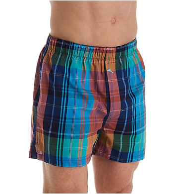 Tommy Bahama Preppy Plaid Yarn-Dye Woven Boxer