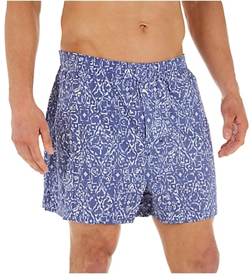 Tommy Bahama Big and Tall Batik Geo Cotton Woven Boxer