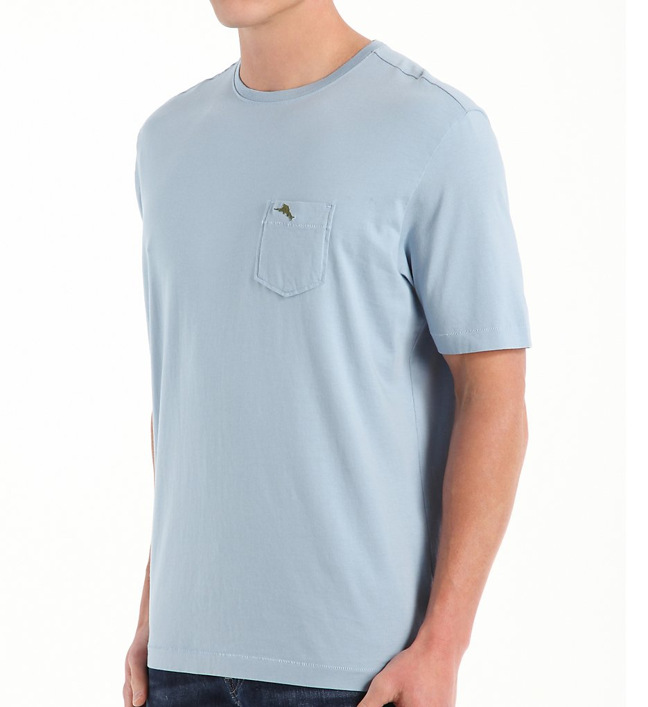 tommy bahama tr210949 bali sky cotton jersey tee (fluid blue s)