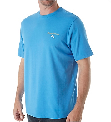 Tommy Bahama Everyone Deserves A Second Shot Cotton Jersey Tee
