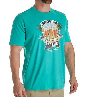 Tommy Bahama Summertime Brews Screen Print T-Shirt