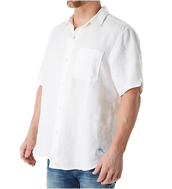 Tommy Bahama Sea Glass Breezer Short Sleeve Linen Shirt