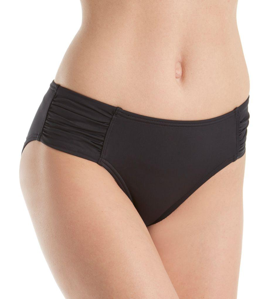 Tommy Bahama Pearl Solids Side Shirred Brief Swim Bottom