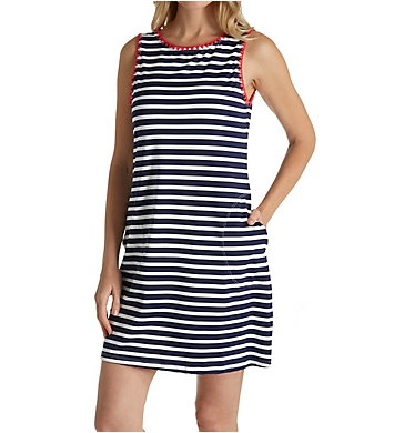 Tommy Bahama Breton Stripe Tank Spa Dress Cover Up