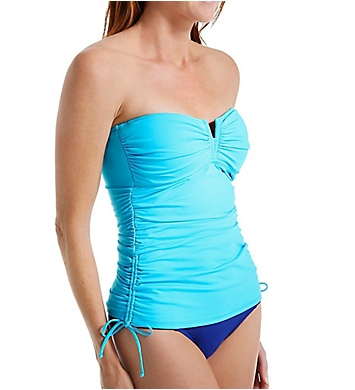 Tommy Bahama Pearl Solids V-Front Long Bandini Swim Top