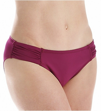Tommy Bahama Pearl Solids Side Shirred Hipster Swim Bottom