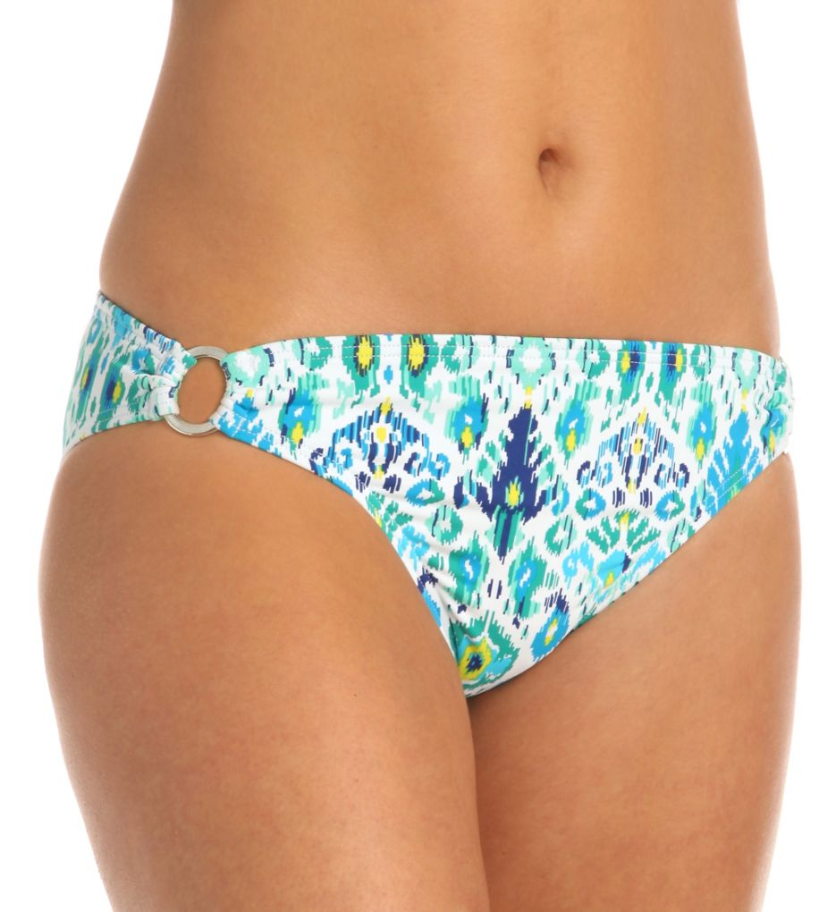 Tommy Bahama Ikat Side Rings Hipster Swim Bottom