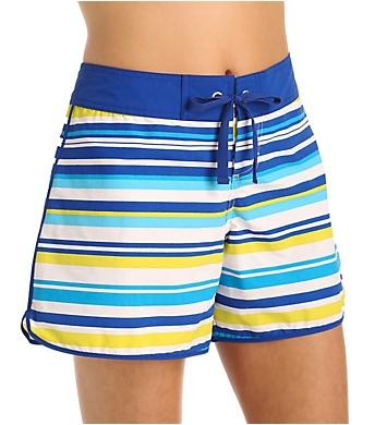 Tommy Bahama Sulphur Stripe 5 Inch Boardshort
