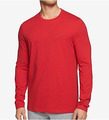 Tommy Hilfiger Long Sleeve Flag Crew Neck T-Shirt