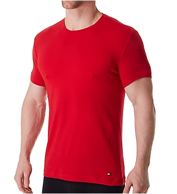 Tommy Hilfiger Cotton Stretch Crew Neck T-Shirts - 3 Pack