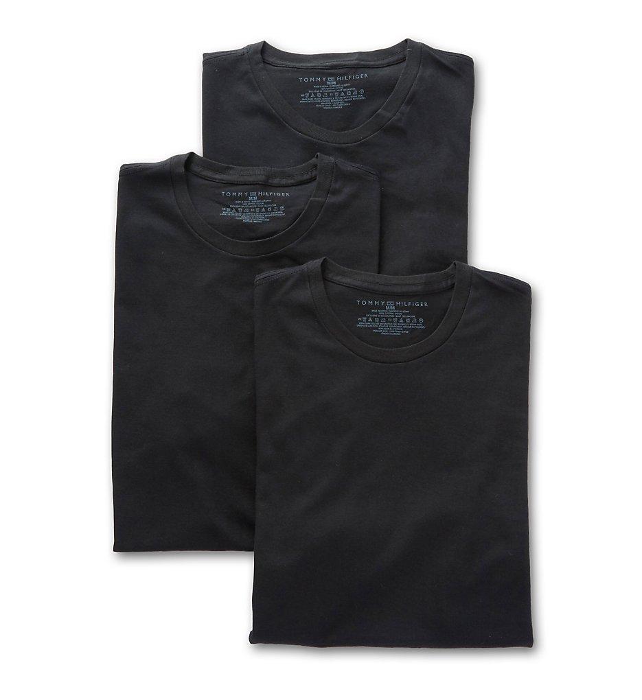 89111e881 Tommy Hilfiger 09T3191 Cotton Classics Slim Fit Crew T-Shirts - 3 Pack