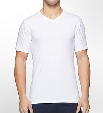 Tommy Hilfiger Cotton Classics Slim Fit V-Neck T-Shirts - 3 Pack