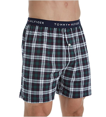 Tommy Hilfiger Printed Cotton Knit Boxer