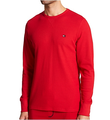 Tommy Hilfiger Thermal Long Sleeve Crew Neck Shirt