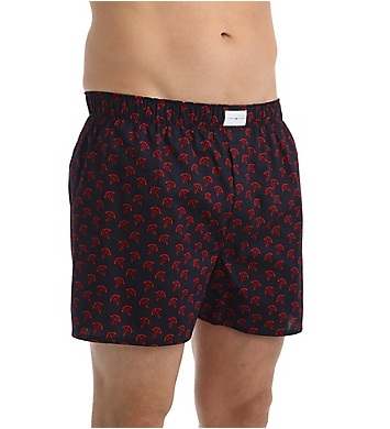 Tommy Hilfiger 100% Cotton Woven Boxer - 3 Pack