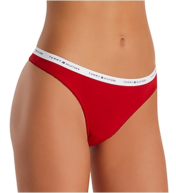 Tommy Hilfiger Classic Cotton Logo Thong
