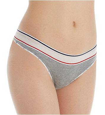 Tommy Hilfiger Sporty Cotton Lounge Mesh Band Thong