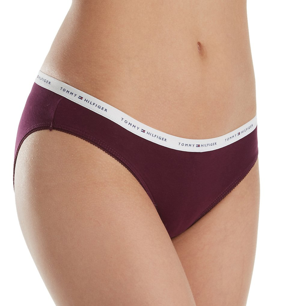 Tommy Hilfiger R14T039 Classic Cotton Logo Band Bikini Panty